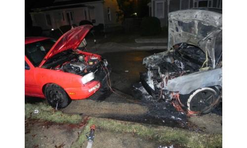 Взрыв аккумулятора при «прикуривании» от другого авто или батареи